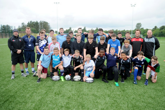 The Strathmore Sharks Rugby Academy in Forfar has been one of the success stories of the timetable change