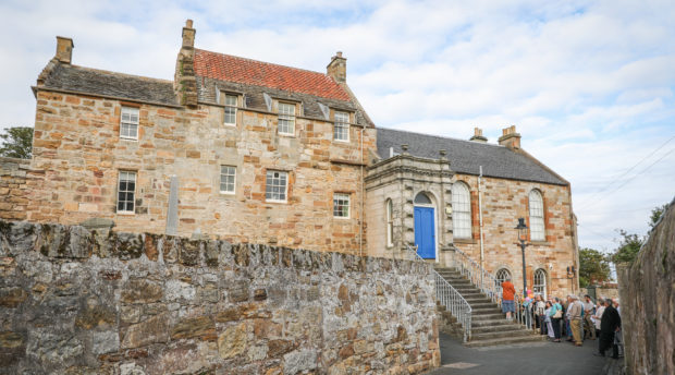 Pittenweem library is now run by the community after being earmarked for closure