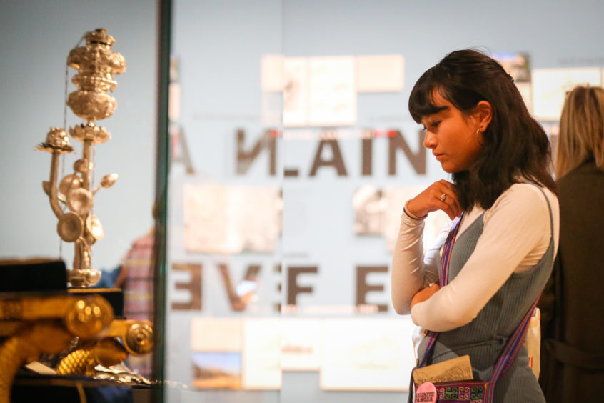 A gallery exhibit at the V&A. Pic: Kris Miller.