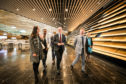 Deputy First Minister John Swinney visits the new V&A museum