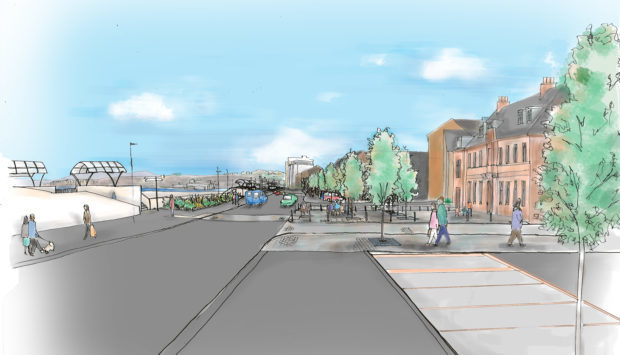 How the esplanade could look