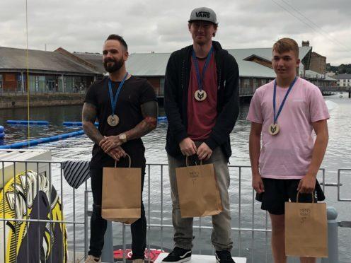 Darren Leslie, William Warnock and Ben Murphy were among the top competitorrs.