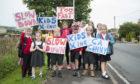 Children from Redmyre School.