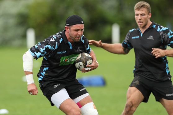 Ryan Wilson is enjoying both the training and the downtime with the Glasgow Warriors in Cape Town.