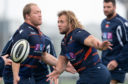 Edinburgh's Willem Nel (left) and Pierre Schoeman will team up in the front row at Ulster.