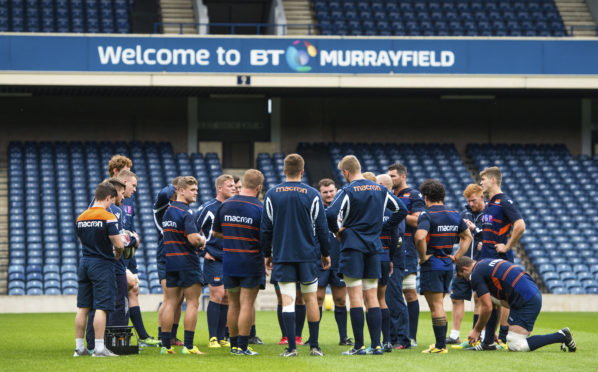 Edinburgh Rugby are at home at Murrayfield for the first time against Connacht.