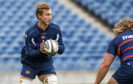 Jamie Ritchie in training at Murrayfield ahead of the  Connacht game.