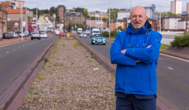 Councillor Crooks where work will begin on the Esplanade