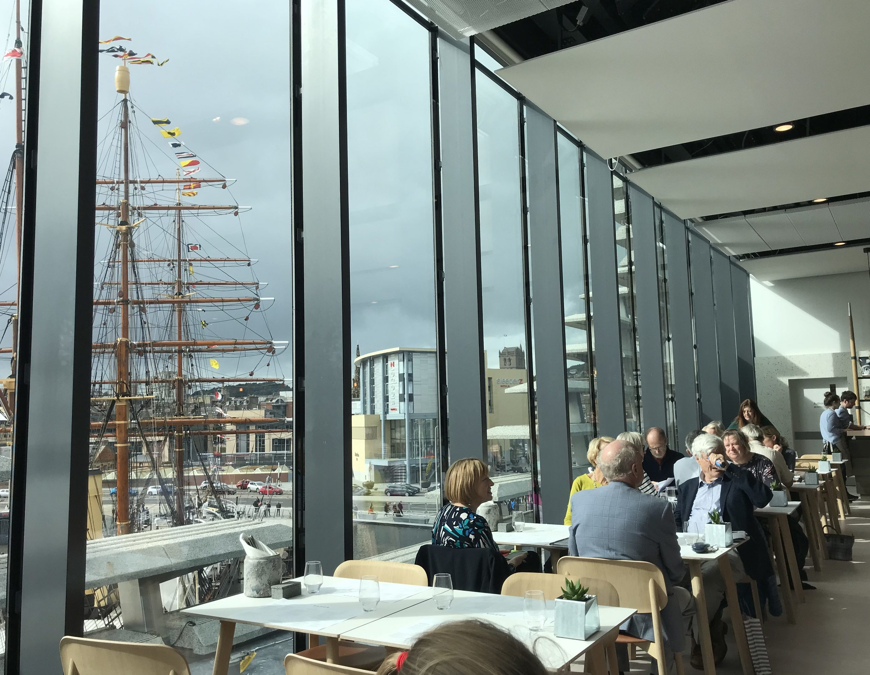 Review: A \'Brunchy/Lunchy\' experience at the V&A Dundee Tatha Bar ...