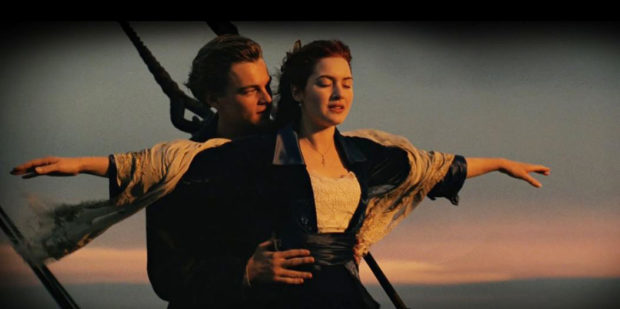The epic movie starred Leonardo DiCaprio and Kate Winslet.