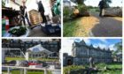 Some of the damage caused by Storm Ali in Dundee, St Andrews and Perth.