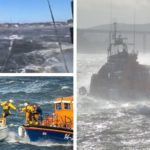 VIDEO: Watch Dundee rescuers battle frightening conditions on Tay as they deal with FOUR call-outs for stricken yachts
