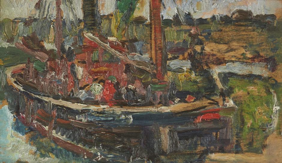 A George Leslie Hunter work.