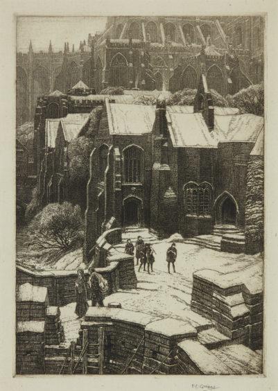 Frederick Landseer Griggs - The Almonry.