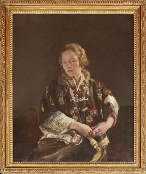 Sir Gerald Kelly portrait.