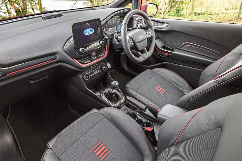 How Much Does Line X Cost >> Sportier Ford Fiesta toes the line - The Courier