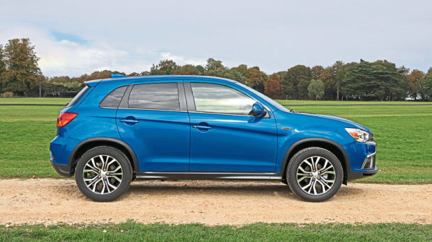 The Mitsubishi ASX.