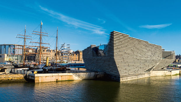 The V&A is benefiting other tourist attractions in Dundee.