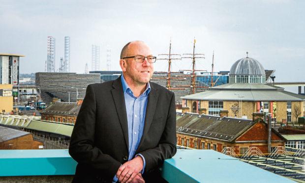 David Littlejohn has led the Tay Cities Deal bid