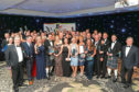 Last year's Courier Business Award winners.