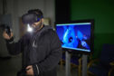 Virtual Reality technology on display at Abertay University