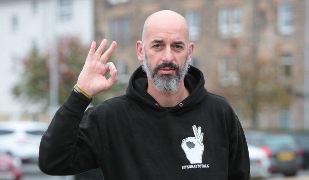 Alex McClintock, co-founder of Andy's Man Club Perth