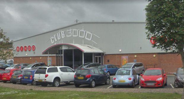 Club 3000 Bingo in Kirkcaldy.