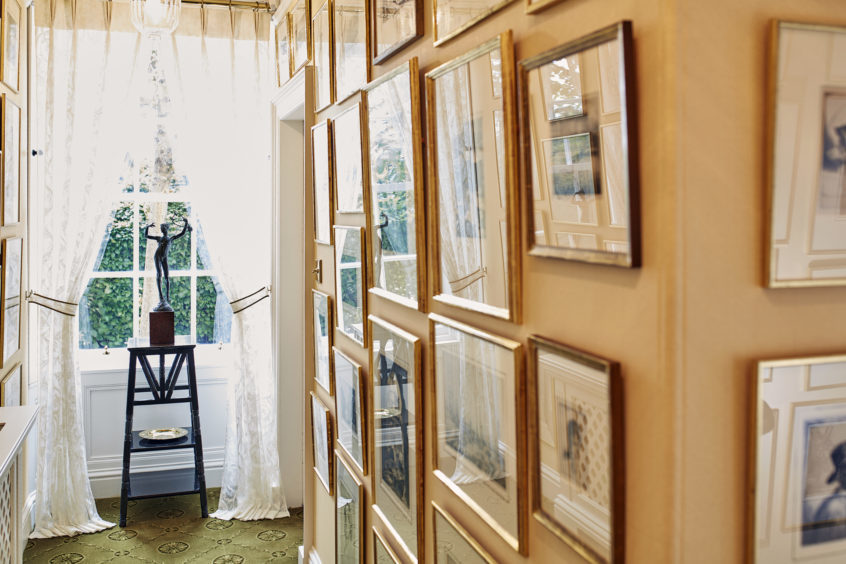 The etching corridor.