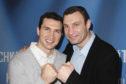 Wladimir Klitschko and his brother Vitali Klitschko