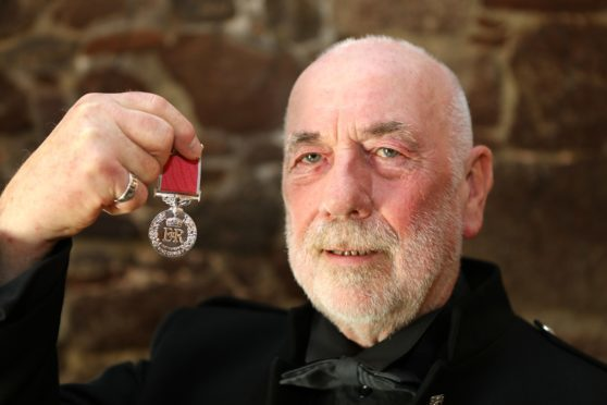 Dave Ramsay was awarded the BEM for his heritage and community work.