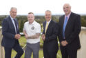 Colin Graham, David Gillies and Sandy Grant from Thorntons and Graham Proctor of St Andrews Legacy