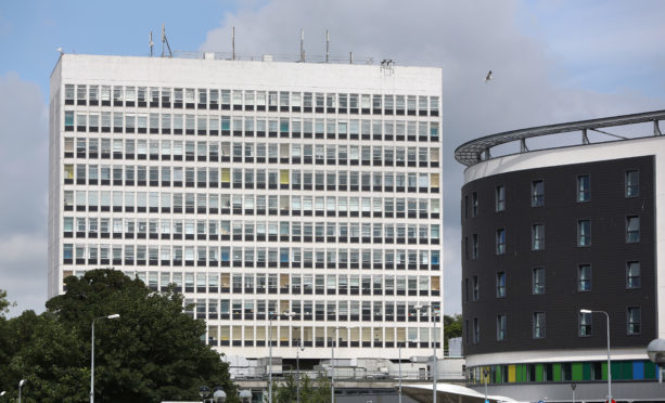 Orthopaedics is currently housed in Victoria Hospital's tower block