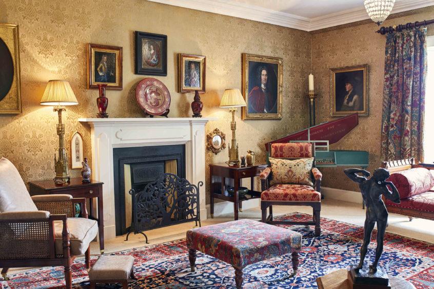 Kirkton House's Music Room.
