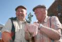 Buchan exiles Allan Thomson, 73, and Bob Wallace, 76.