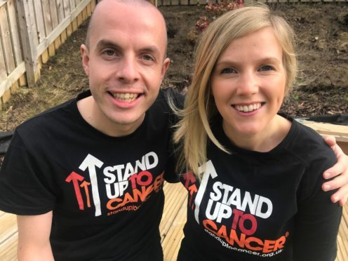 Craig is taking a swing at cancer to support Heather