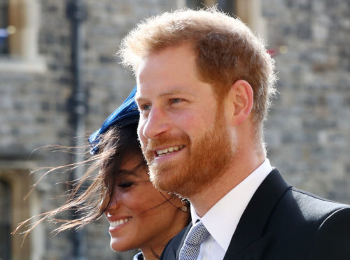 Meghan and Harry attending the wedding of Princess Eugenie to Jack Brooksbank at St George's Chapel in Windsor Castle on Friday.