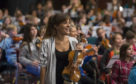 Nicola Benedetti in the Caird Hall.