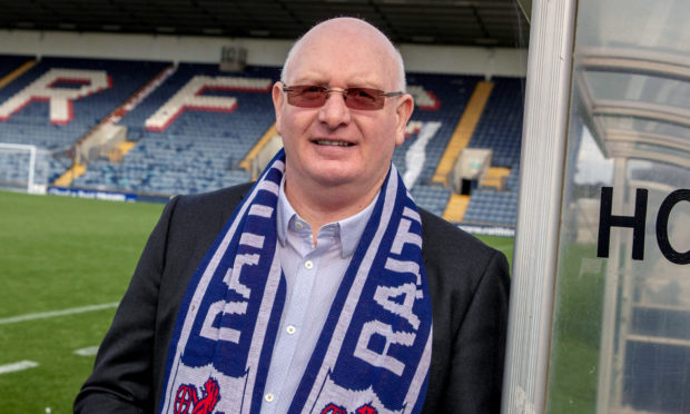 Raith boss John McGlynn.