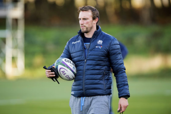 Scotland Assistant Coach Mike Blair.