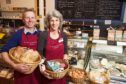 Simon and Sarah Yearsley, owners of The Scottish Deli in Dunkeld.