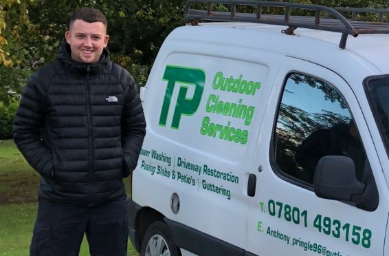 Tony Pringle of TP Outdoor Cleaning Services