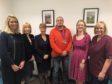Gemma Couser, general manager; Aileen Lawrie, head of midwifery/nursing; Helen Wright, director of nursing; Councillor Gavin Ellis, Shirley-Anne Somerville MSP SNP; and Lorna Eldridge, clinical midwife.