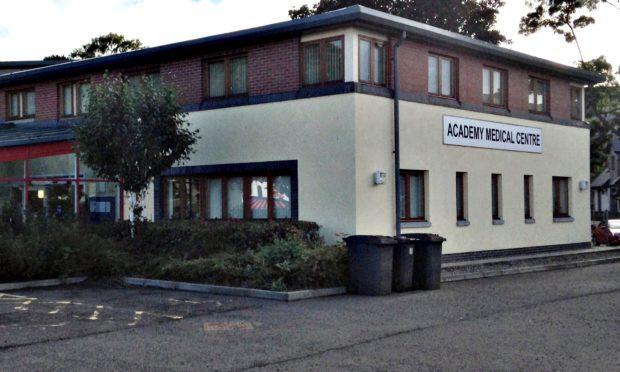 The Academy Medical Centre in Forfar.