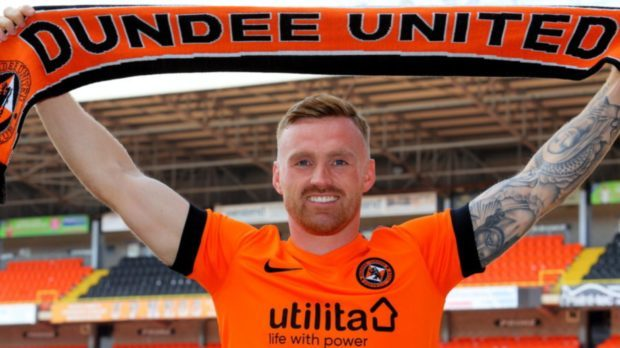 Craig Curran after joining United in the summer.