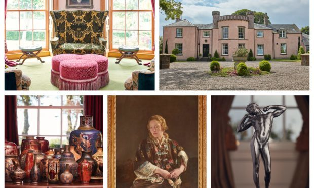 The contents of Kirkton House sold for £1million.