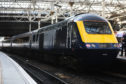 A new Scotrail Inter7City train.