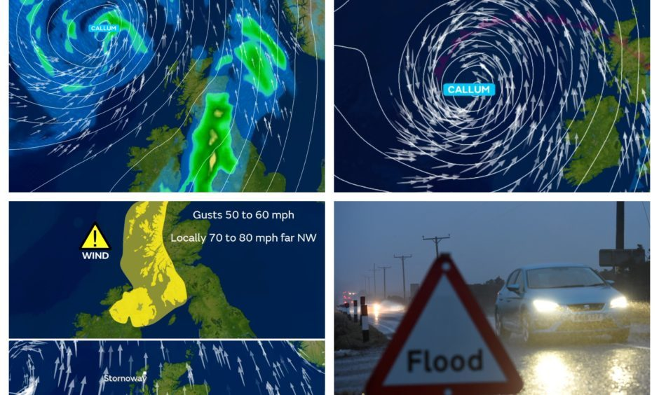 Gales and heavy rain to end the week