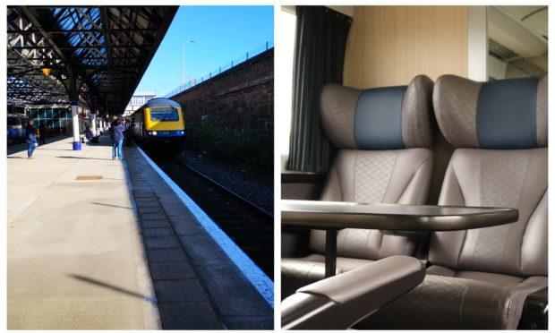 A ScotRail Inter7City high-speed train.