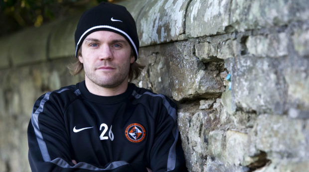 Robbie Neilson when he was a player at Dundee United.