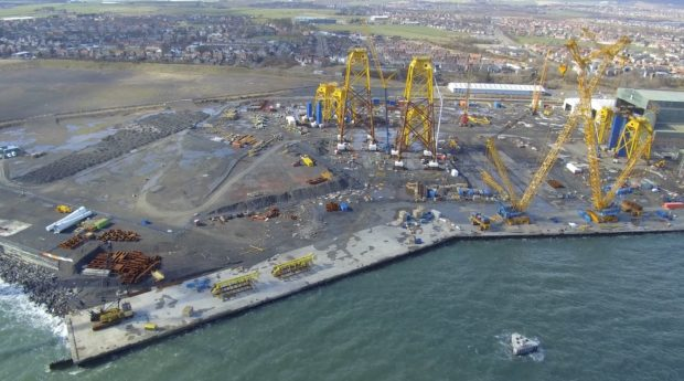 CessCon has signed terms for a site beside BiFab in Methil.